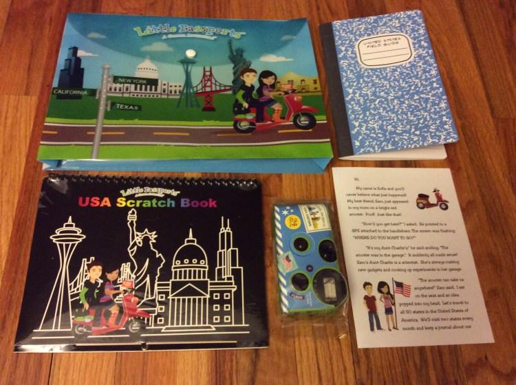 Little Passports USA Edition Discovery Kit