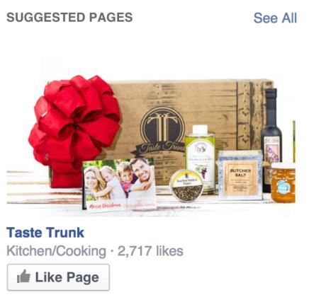 Taste Trunk Sidebar Ad