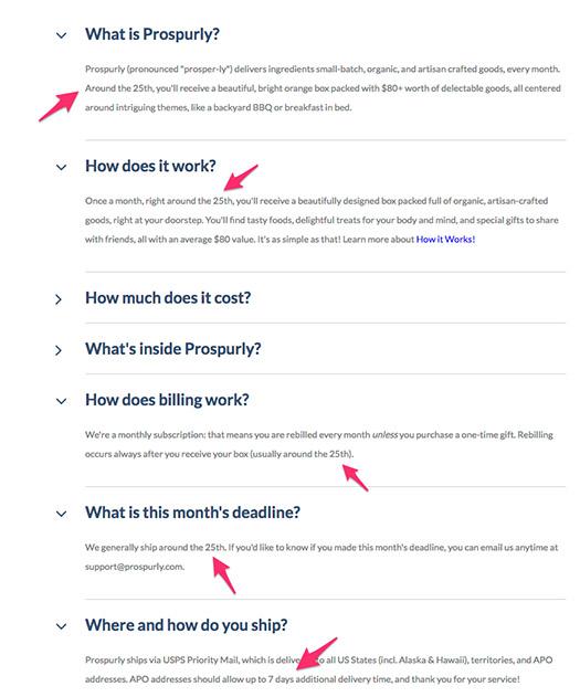 Prospurly Example FAQ