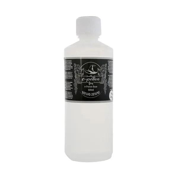 e-potion substitute magazin tigari electronice sibiu vapat țigară electronica lichide cu nicotina Baza lichid tigara electronica e-potion 60vg 40pg 0mg 500ml