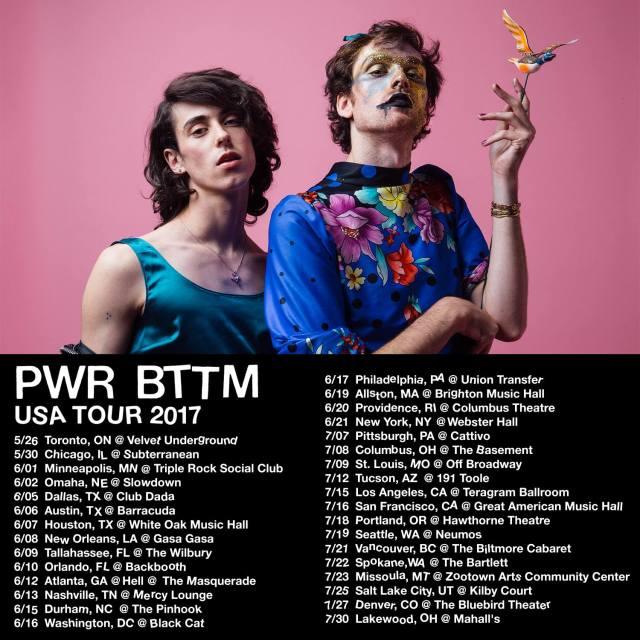 pwr bttm tour