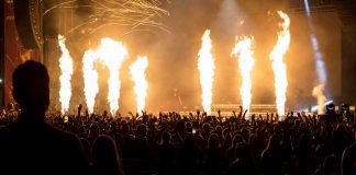 Major Lazer at Billboard Hot 100 Festival - by Molly Hudelson