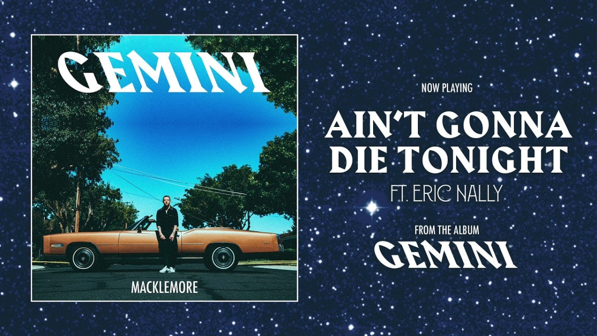 "Eric Nally guests on new Macklemore song ""Ain't Gonna Die Tonight"""