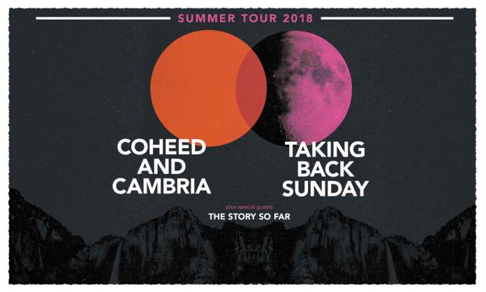 coheed and Cambria taking back sunday