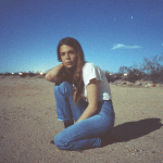 Maggie Rogers light on