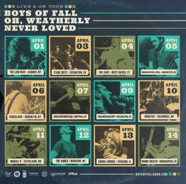 boys of fall tour