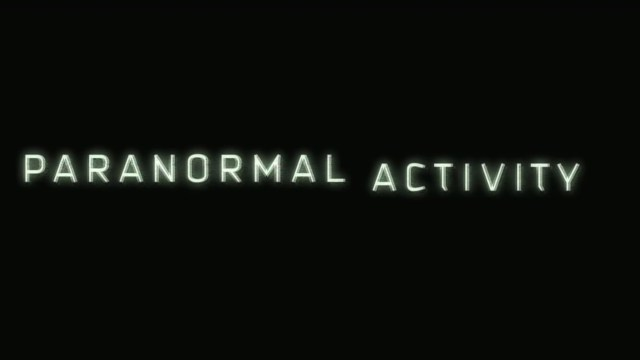 Paranormal Activity Title
