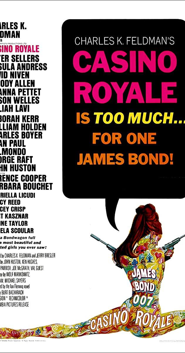 Casino Royale (1967): คาสิโน รัวยาล ทีเด็ดเจมส์บอนด์ 007