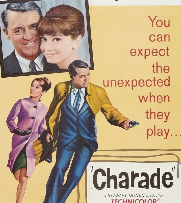 Charade (1963) : ปารีส สายลับ ฆาตกรรมปริศนา
