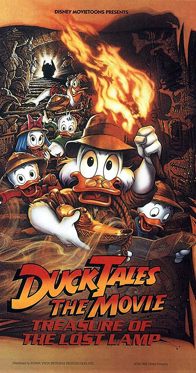 DuckTales the Movie Treasure of the Lost Lamp 1990
