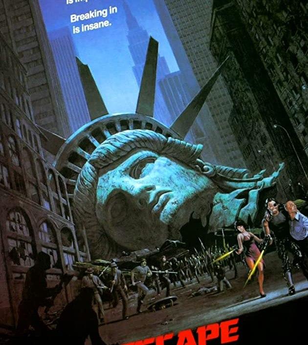 Escape from New York (1981): แหกนรกนิวยอร์ค