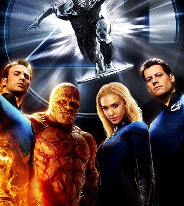 Fantastic 4: Rise of the Silver Surfer (2007) สี่พลังคนกายสิทธิ์ กำเนิดซิลเวอร์เซิรฟเฟอร์