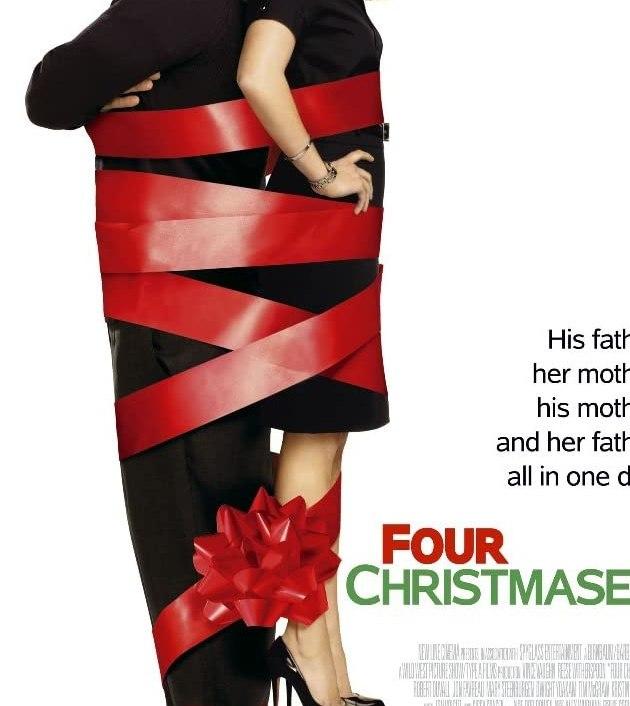 Four Christmases (2008): คู่รักอลวนลุยคริสต์มาสอลเวง