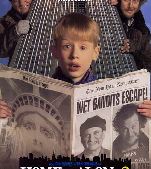 Home Alone 2: Lost in New York (1992) โดดเดี่ยวผู้น่ารัก 2