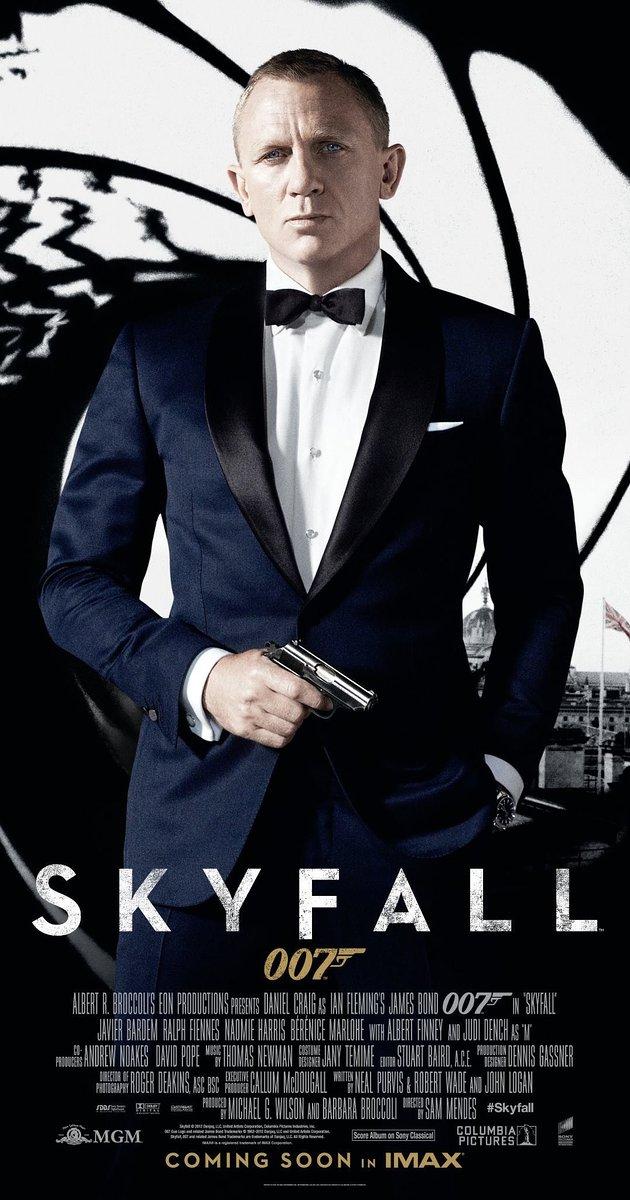 James Bond 007 Skyfall (2012) : เจมส์ บอนด์ 007 พลิกรหัสพิฆาตพยัคฆ์ร้าย