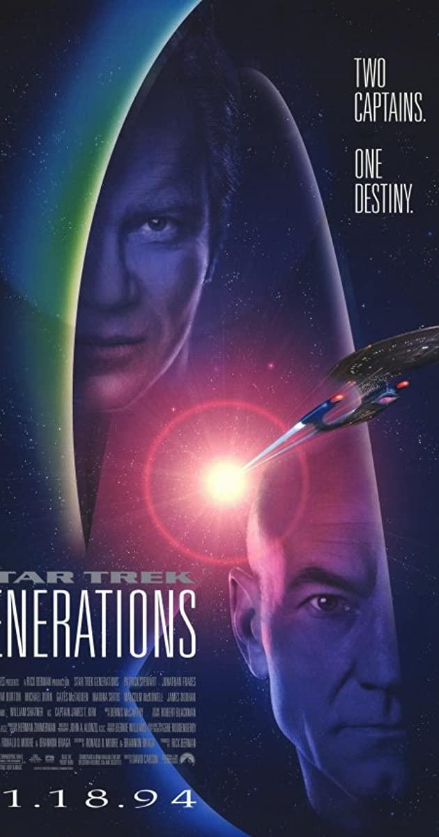 Star Trek: Generations (1994): สตาร์เทรค ผ่ามิติจักรวาลทลายโลก