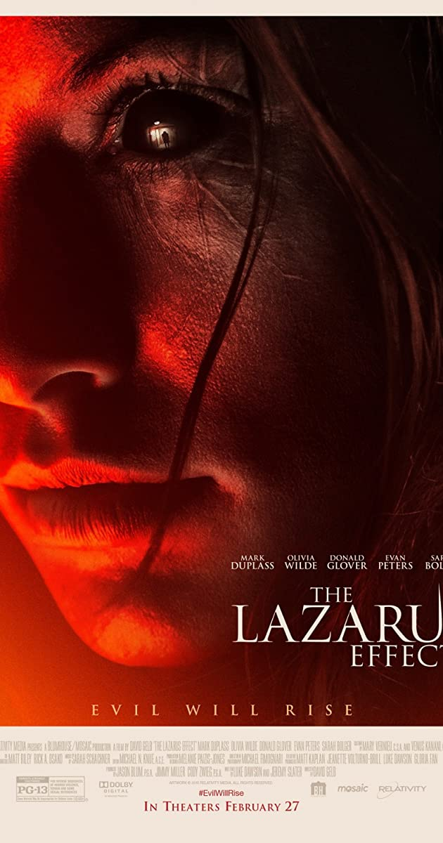 The Lazarus Effect (2015): โปรเจกต์ชุบตาย
