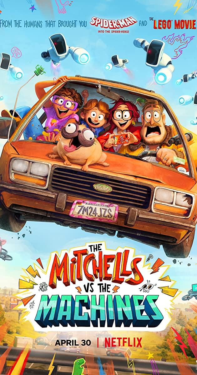 The Mitchells vs the Machines (2021): บ้านมิตเชลล์ปะทะจักรกล