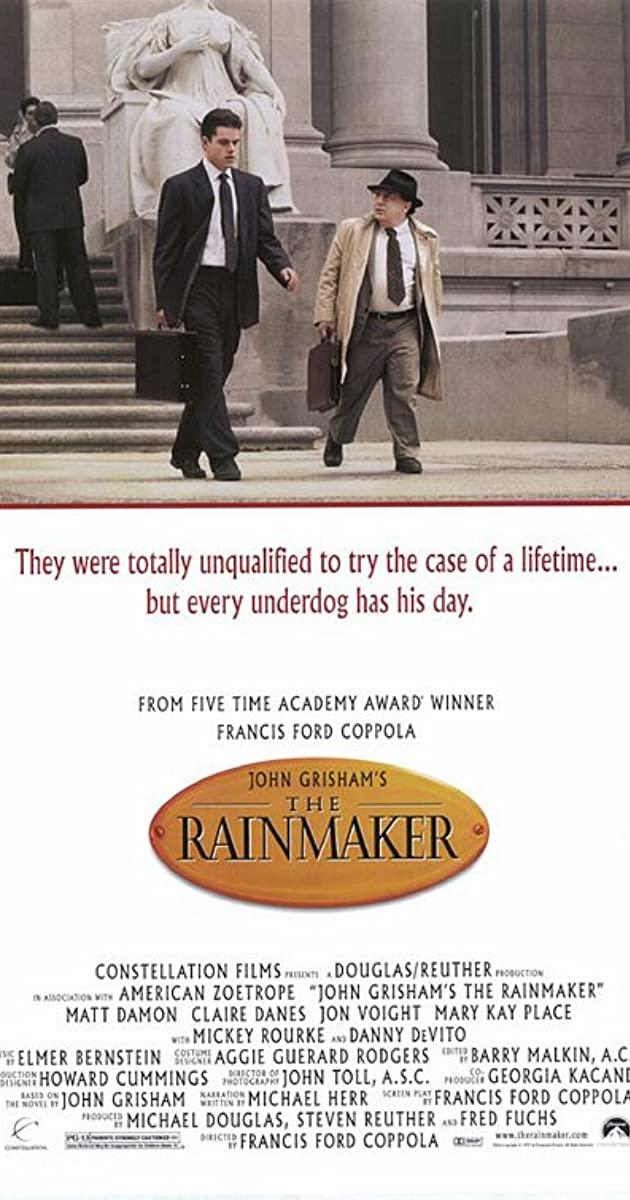 The Rainmaker (1997): หักเขี้ยวเสือ