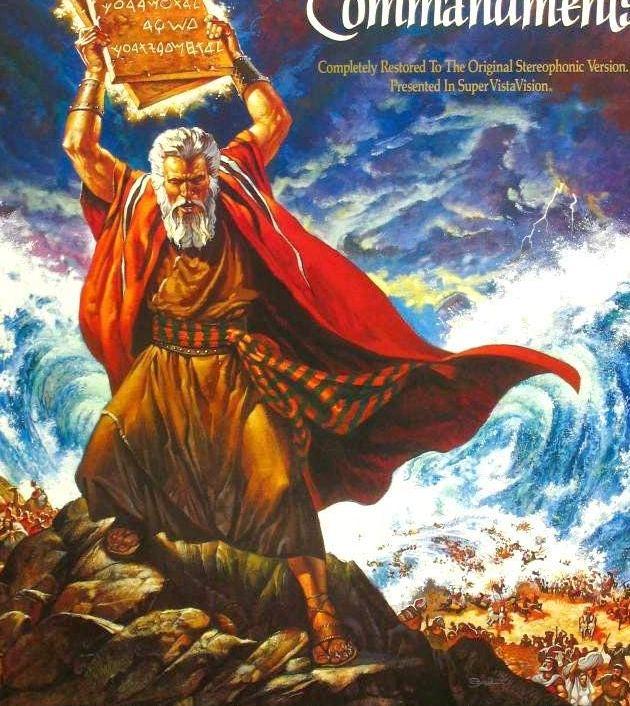 The Ten Commandments (1956): บัญญัติ 10 ประการ