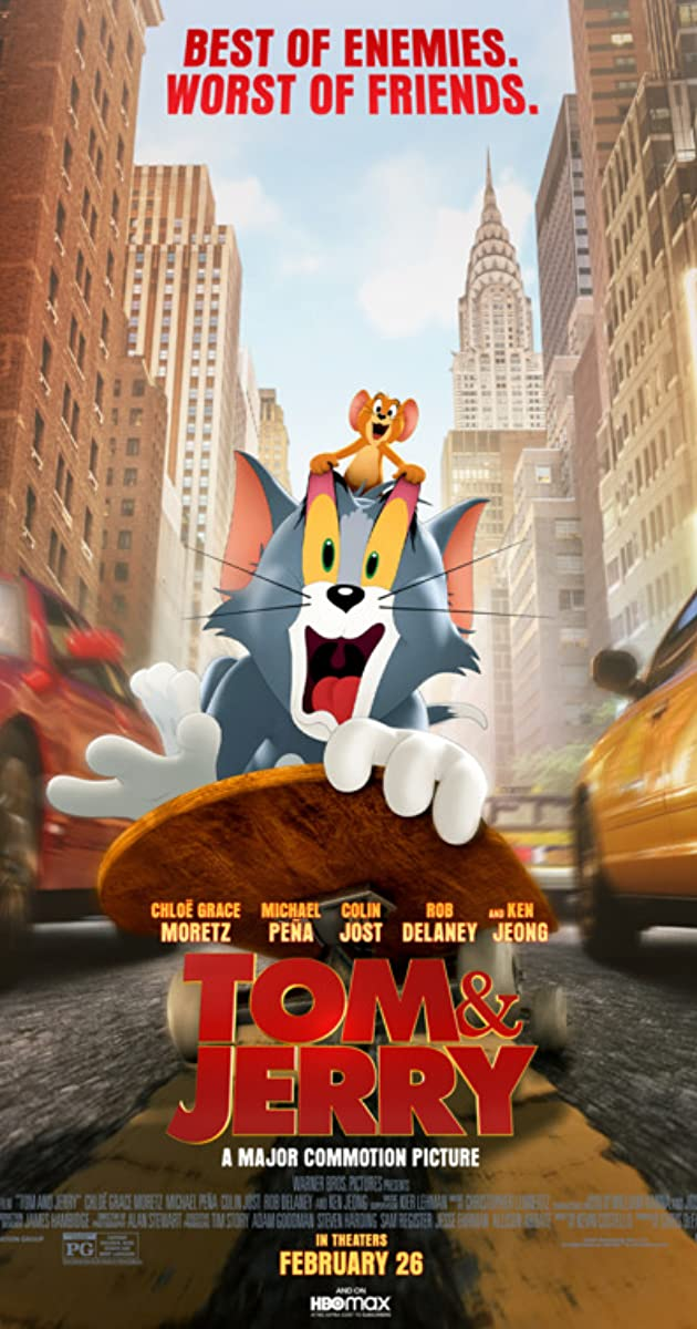 Tom and Jerry (2021): ทอม แอนด์ เจอร์รี่