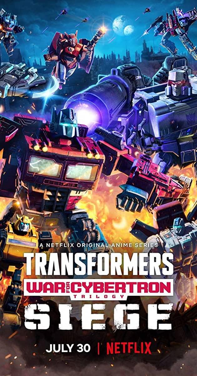 Transformers: War for Cybertron Trilogy TV Series (2020): ทรานส์ฟอร์เมอร์ส: สงครามไซเบอร์ทรอน: Siege
