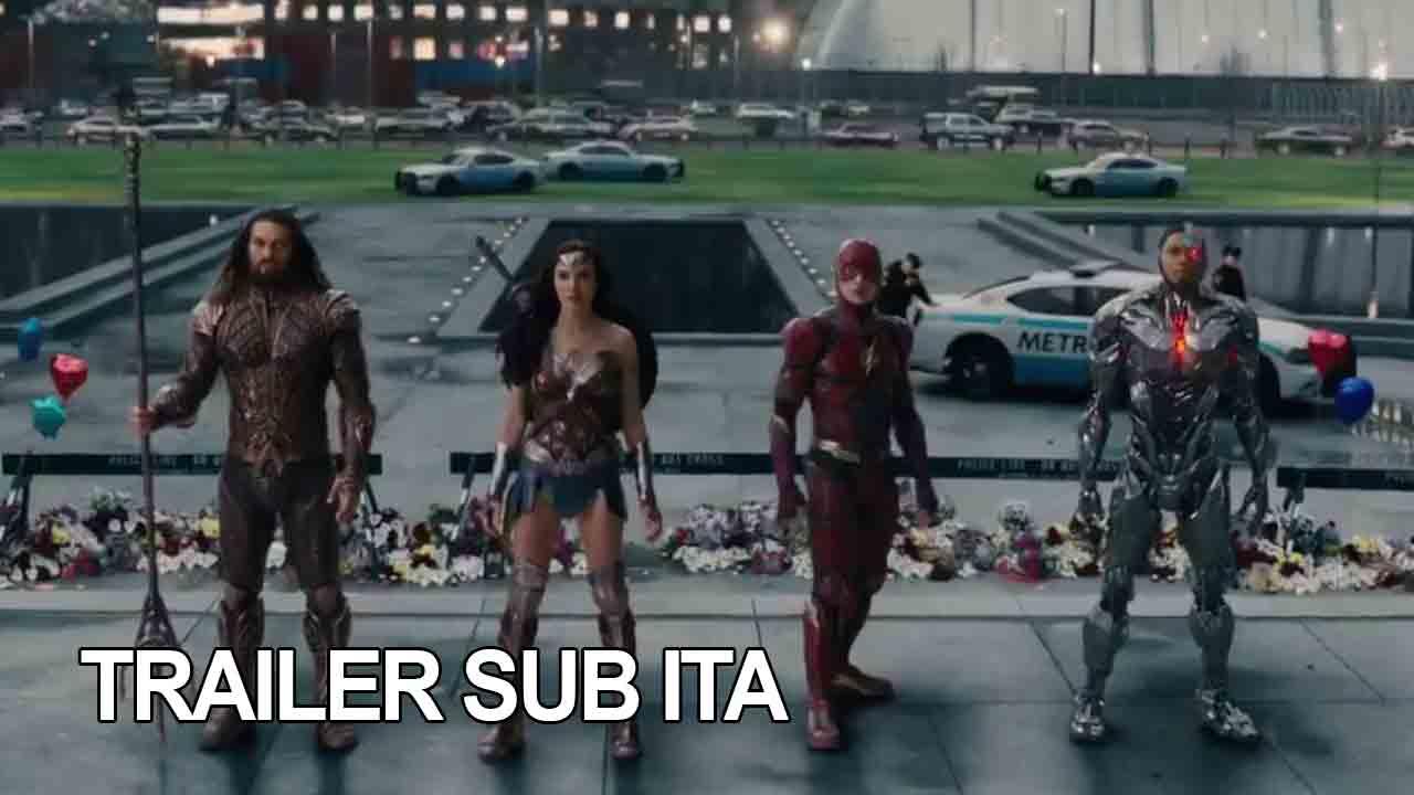 Trailer di Justice League (Comic-Con)