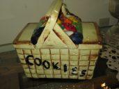 Mc Coy Picnic Basket Cookie Jar ( Unmarked )