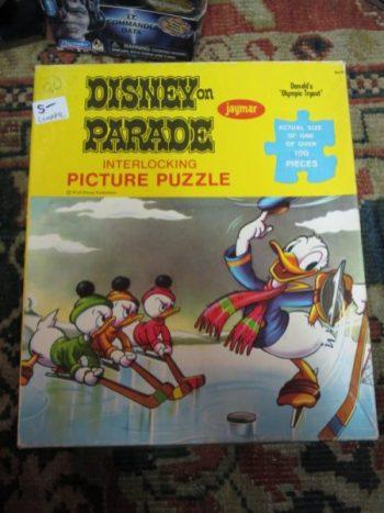 Donald Duck Puzzle (Complete)