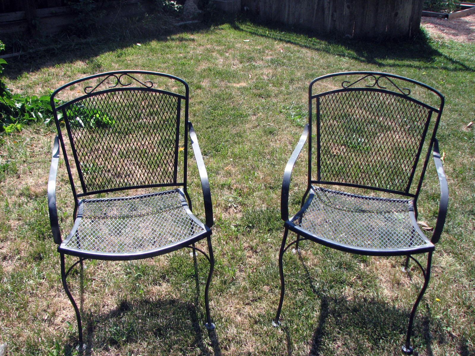 patio furniture suburban experiment