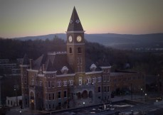 Washington County Courthouse at dawn.