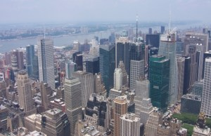 View 2 of NYC from Empire State Building