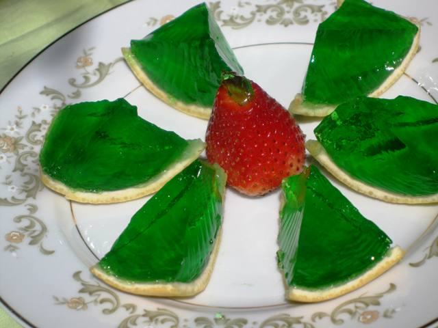 Jello Wedges - Creative Jello Desserts
