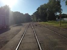 Train Tracks, Rochelle Park (L.E. Swenson)