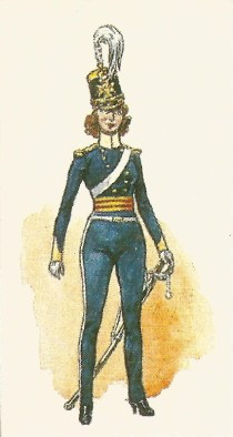 4th Light Dragoons, c.1854