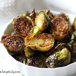 Roasted Brussels Sprouts Recipe (with video)