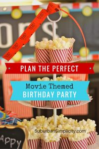 Plan the perfect movie-themed birthday party