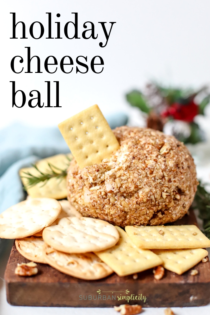 Holiday Blue Cheese Ball