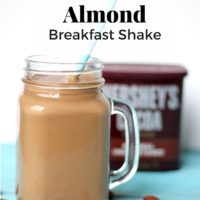 Metabolism Boosting Chocolate Almond Breakfast Shake
