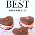 Simply the best Whoopie Pies. An oh, so yummy chocolate cake with creme filling.