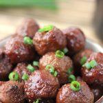 3 Ingredient Crockpot Grape Jelly Meatballs