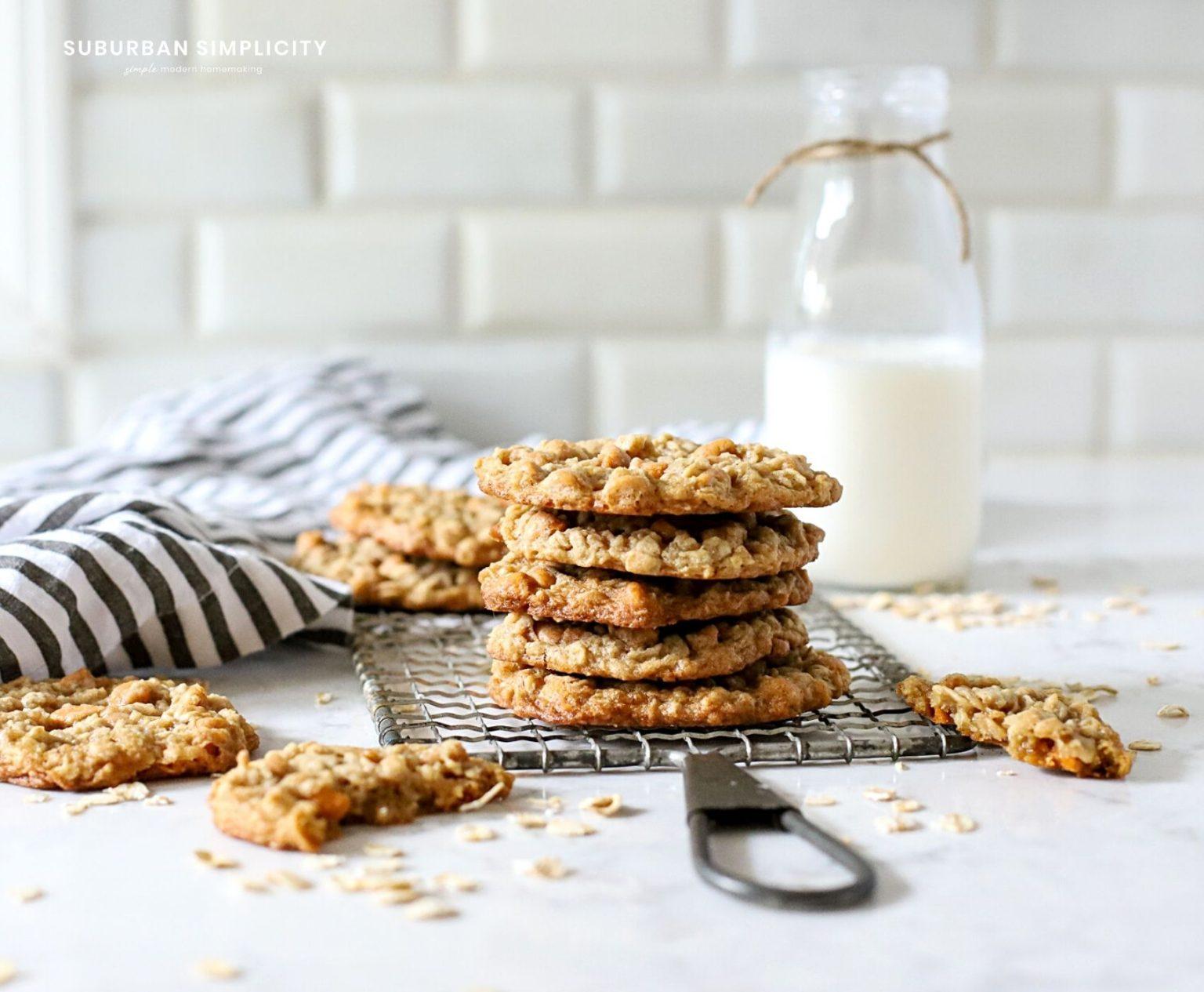 Butterscotch Lactation Cookies