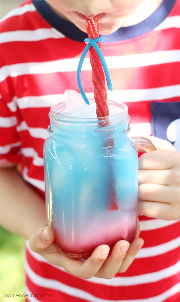 Kid-friendly patriotic punch