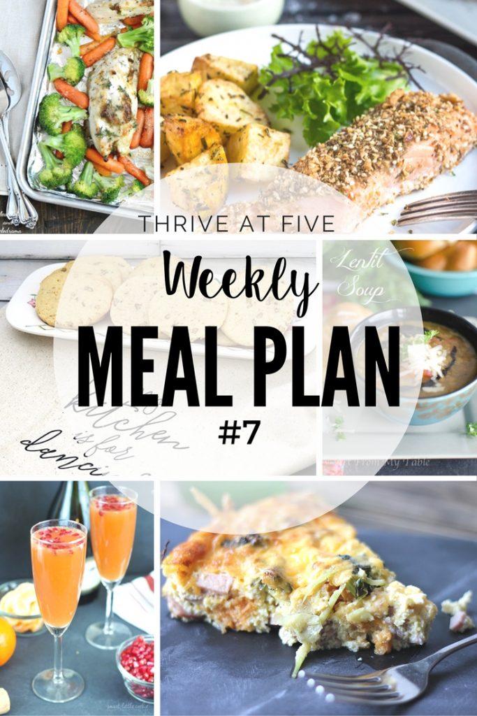 Weekly Meal Plan #7