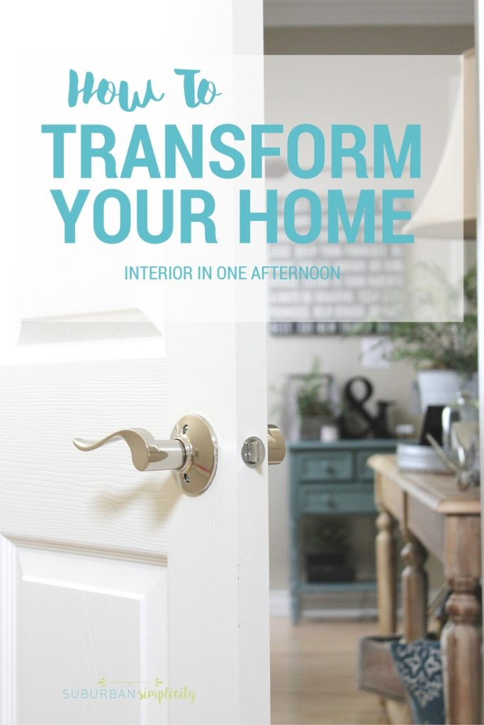 Learn how to transform your home interior in one afternoon with a simple design tip. I can't believe how it enhanced the style of every room in our house as well as keeping it safe and even smarter! AD SchlageInteriorInspo SchlageOpenPossibilities @SchlageLocks