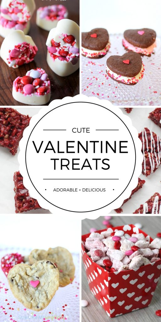 Share the love with Cute Homemade Valentine's Day Treat Ideas for your family and friends. Delicious! Valentine's Day recipes worth pinning...and eating!