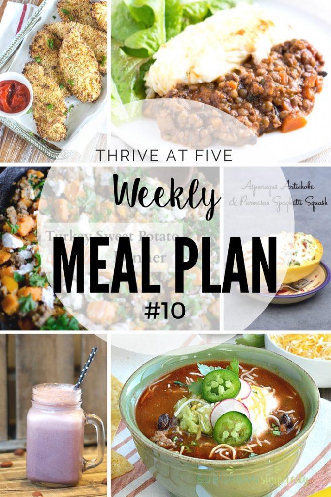 Weekly Meal Plan #10