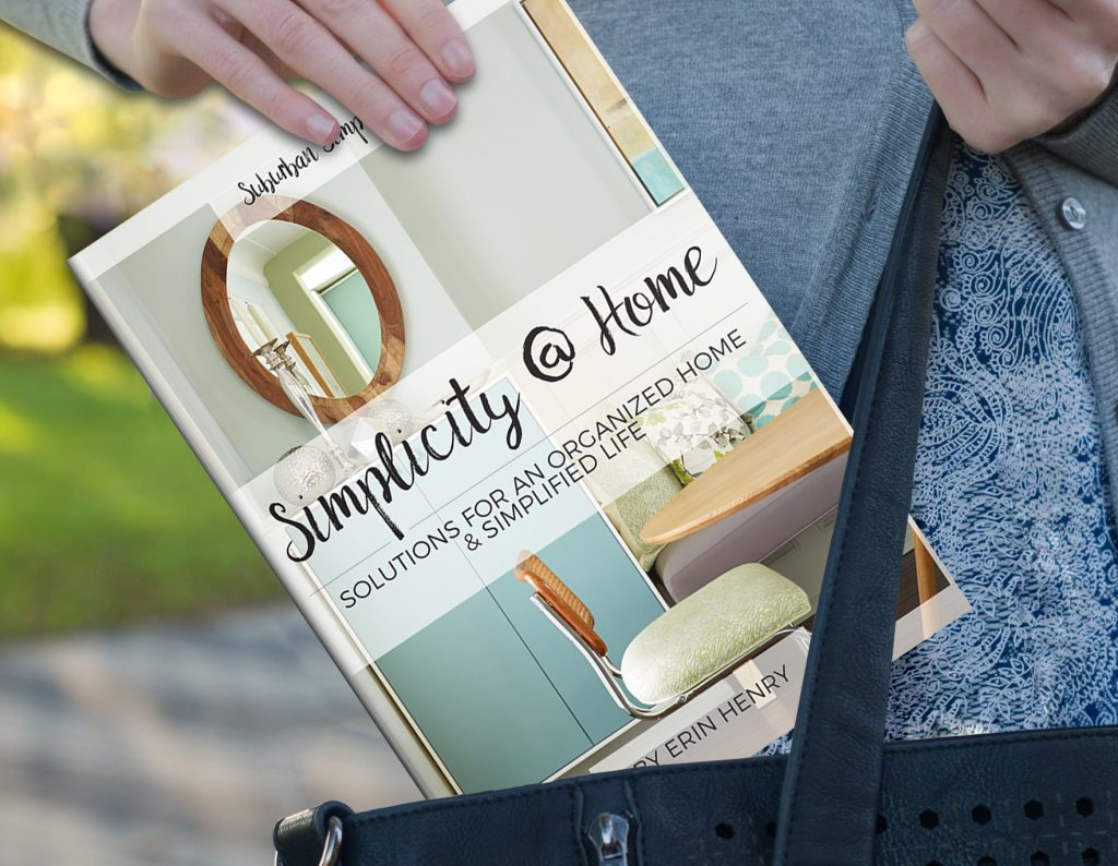 Simplicity at Home eBook - practical advice and systems for the challenges around the house.