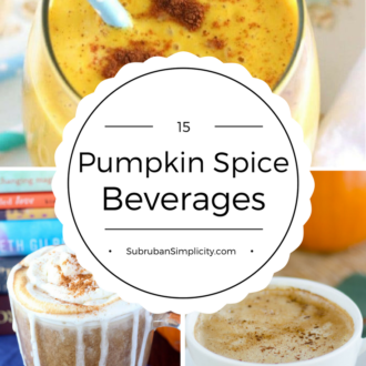 15 Insanely Delicious Pumpkin Spice Drinks you can't pass up! These recipes are so yummy and satisfying, you'll be hooked all season long!