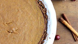 Paleo Pumpkin Pie Recipe That's Dairy Free